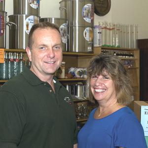 Tess and Mark Szamatulski headshot