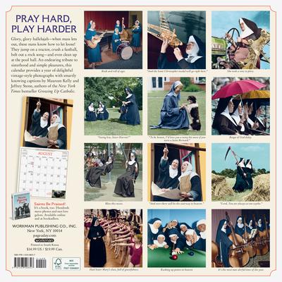 Nuns Having Fun 2021 Calendar Wallpaper