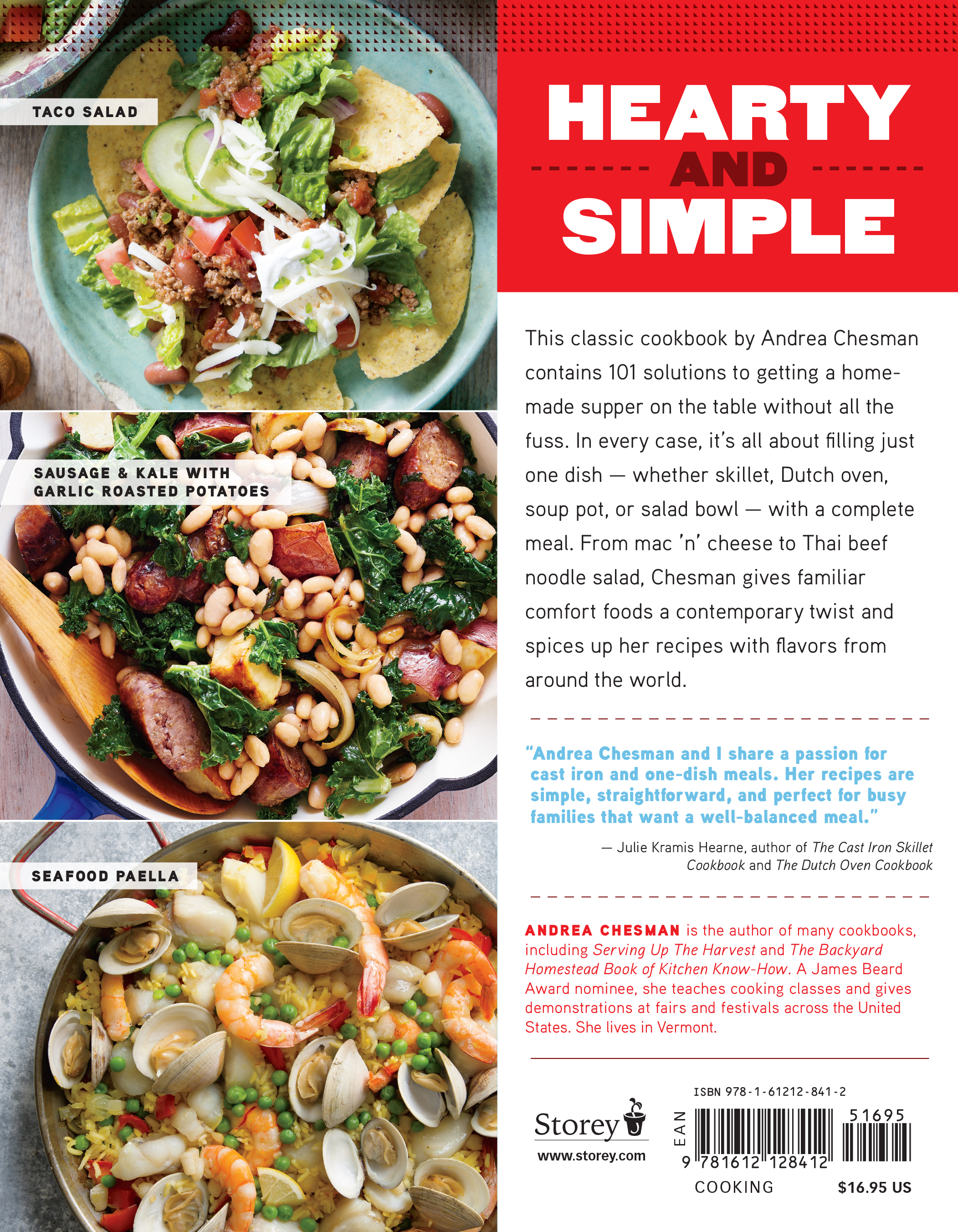 101 one dish dinners workman publishing