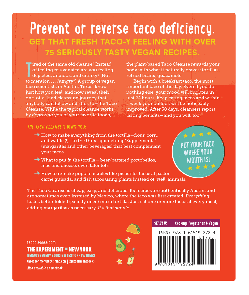 The Taco Cleanse - Workman Publishing