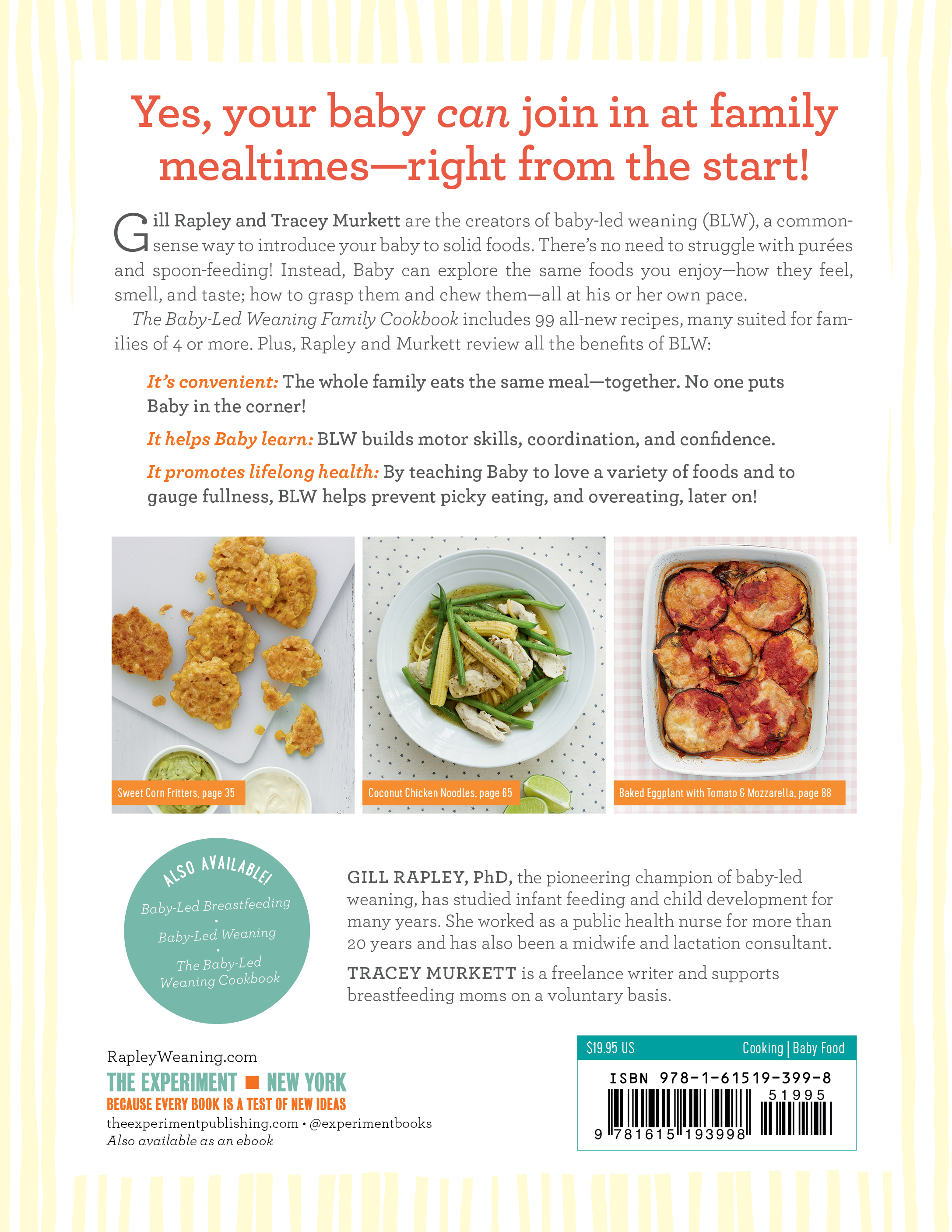 The baby led weaning family cookbook workman publishing view full size image forumfinder Choice Image