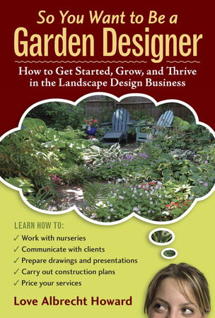 Book Cover for: So You Want to Be a Garden Designer