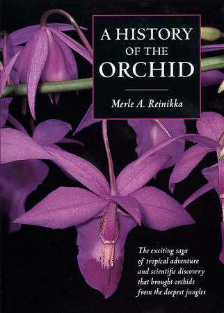 Book Cover for: A History of the Orchid