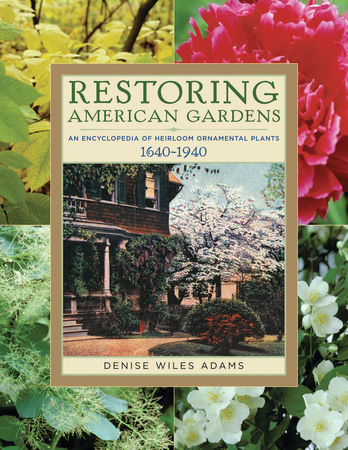 Book Cover for: Restoring American Gardens