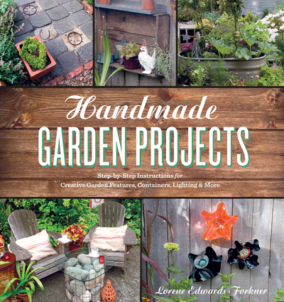 Book Cover for: Handmade Garden Projects