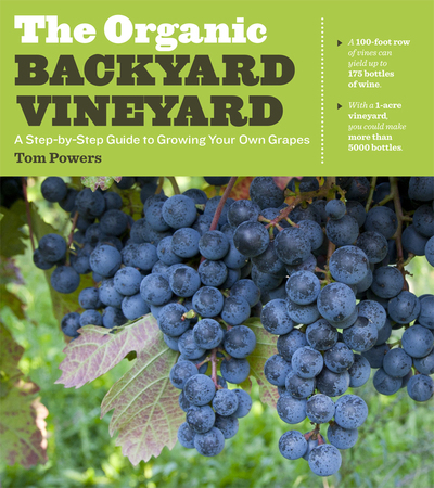 Book Cover for: The Organic Backyard Vineyard