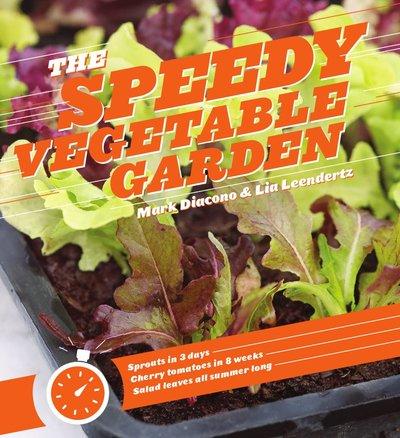 Book Cover for: The Speedy Vegetable Garden