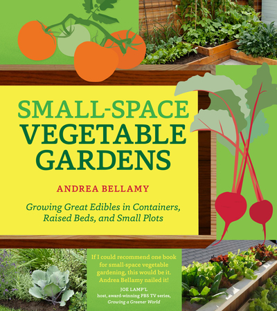 Book Cover for: Small-Space Vegetable Gardens