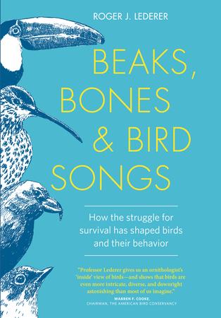 Book Cover for: Beaks, Bones and Bird Songs