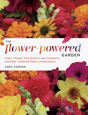 Book Cover for: The Flower-Powered Garden