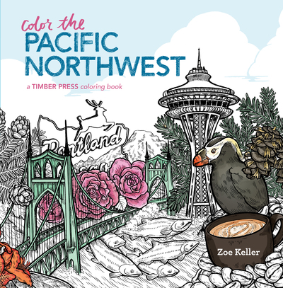 Book Cover for: Color the Pacific Northwest