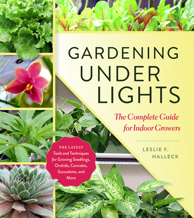 Book Cover for: Gardening Under Lights
