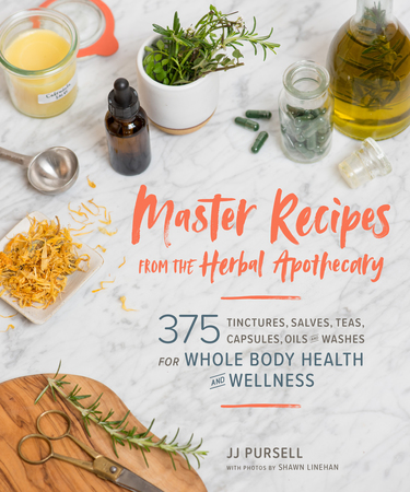 Book Cover for: Master Recipes from the Herbal Apothecary