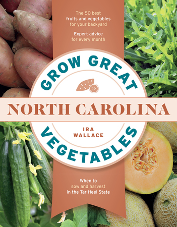 Book Cover for: Grow Great Vegetables in North Carolina