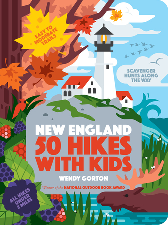 Book Cover for: 50 Hikes with Kids New England