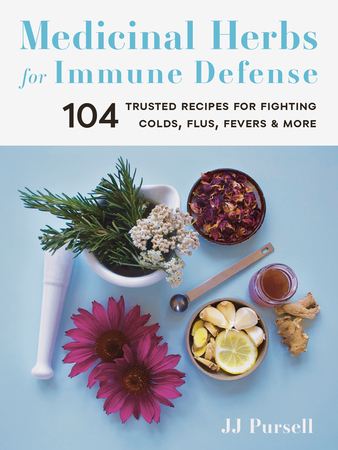 Book Cover for: Medicinal Herbs for Immune Defense