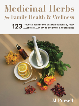 Book Cover for: Medicinal Herbs for Family Health and Wellness