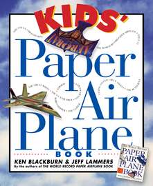 Kids' Paper Airplane Book - cover