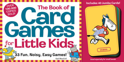 The Book of Card Games for Little Kids - cover