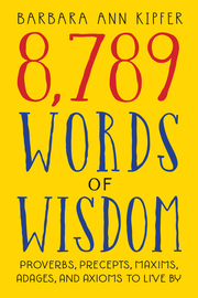 8,789 Words of Wisdom - cover