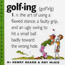 Golfing - cover