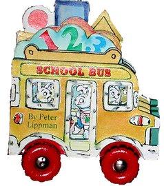 Mini Wheels: School Bus - cover