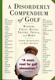 A Disorderly Compendium of Golf - cover