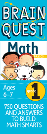 Brain Quest 1st Grade Math Q&A Cards - cover