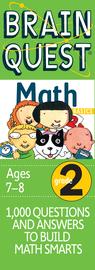 Brain Quest 2nd Grade Math Q&A Cards - cover