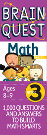 Brain Quest Grade 3 Math - cover