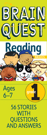 Brain Quest Grade 1 Reading - cover