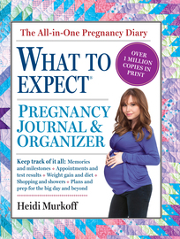 The What to Expect Pregnancy Journal & Organizer - cover