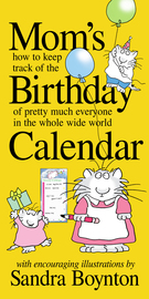 Mom's Birthday Calendar  - cover