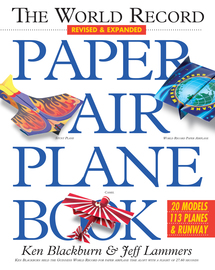 The World Record Paper Airplane Book - cover
