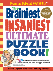 The Brainiest Insaniest Ultimate Puzzle Book! - cover