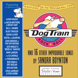 Dog Train CD - cover