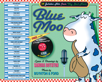 Blue Moo - cover