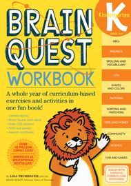 Brain Quest Workbook: Kindergarten - cover