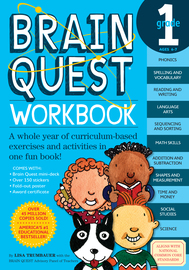 Brain Quest Workbook: Grade 1 - cover