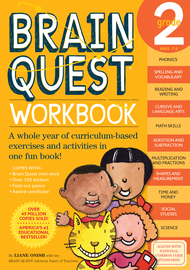 Brain Quest Workbook: 2nd Grade - cover