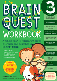 Brain Quest Workbook: 3rd Grade - cover