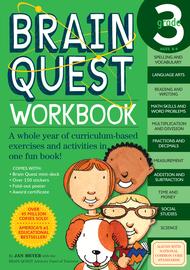 Brain Quest Workbook: 3rd Grade - cover