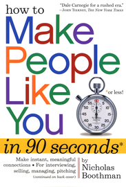 How to Make People Like You in 90 Seconds or Less - cover