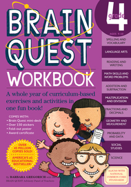 Brain Quest Workbook: Grade 4 - cover