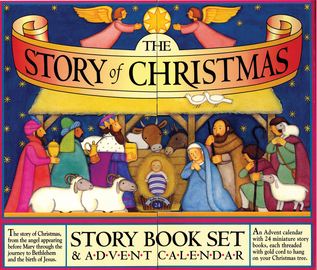 The Story of Christmas Story Book Set and Advent Calendar - cover