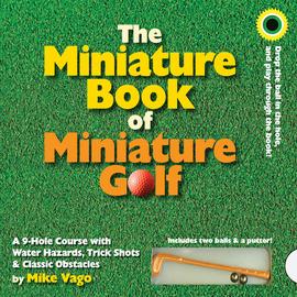 The Miniature Book of Miniature Golf - cover