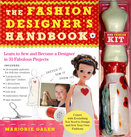 The Fashion Designer's Handbook & Fashion Kit - cover