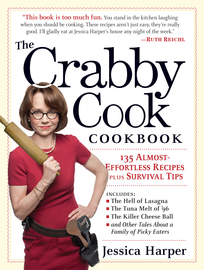 The Crabby Cook Cookbook - cover