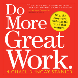 Do More Great Work - cover