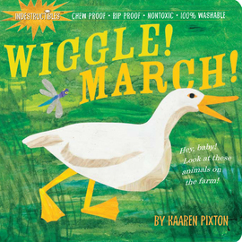Indestructibles Wiggle! March! - cover